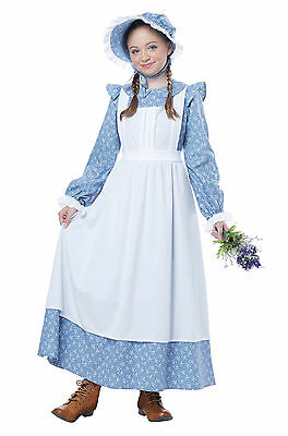 Child Colonial Pioneer Girl Costume