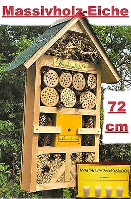 Insektenhotel XXXL/Hummelhotel/Gelb/für viele Insektenarten/Lockstoffen Inkl. !