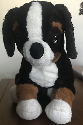 Ikea Hoppig Bernese Mountain Dog Puppy Plush 14