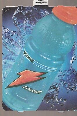 Gatorade Cool Blue Vending Machine Sign