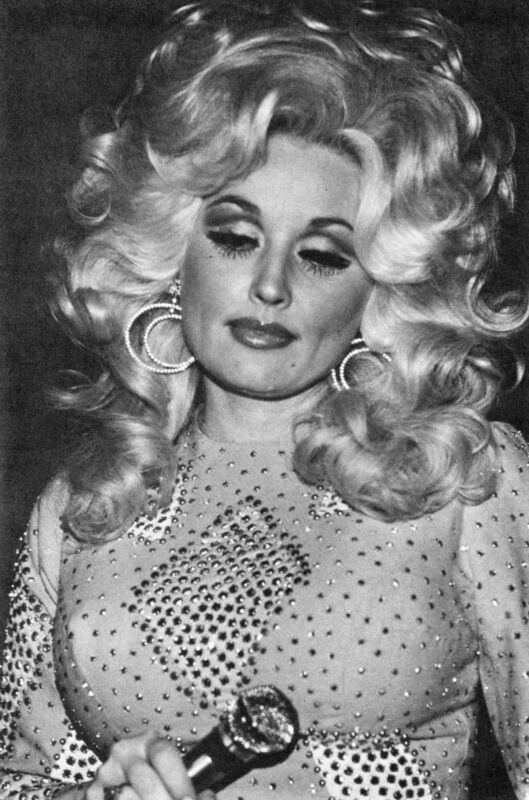 Dolly Parton Thoughtful Looking Down 8x10 Photo Print