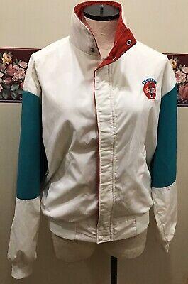 Vintage ALWAYS COCA COLA Dunbrooke Medium Zip Jacket USA