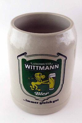 Masskrug Brauerei Wittmann Bier Bierkrug Masskrug Steinkrug 0,5 Krug Landshut