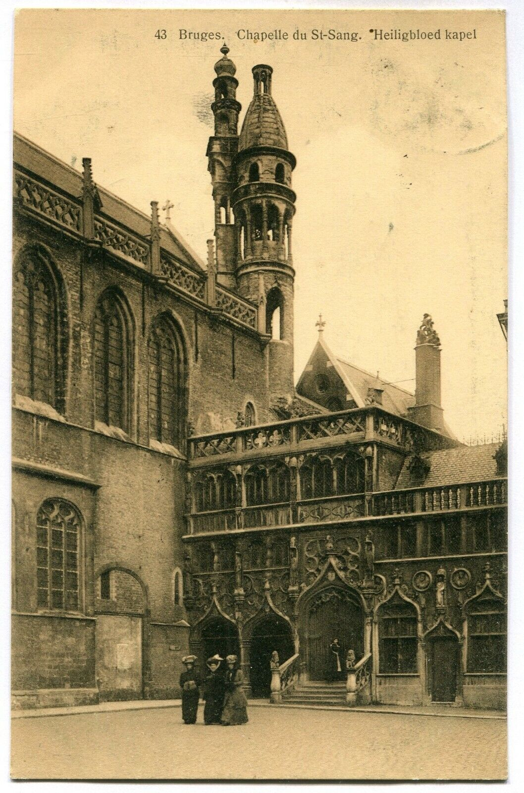 CPA - Carte Postale - Belgique - Bruges - Chapelle du Saint Sang - 1912 (M7423)
