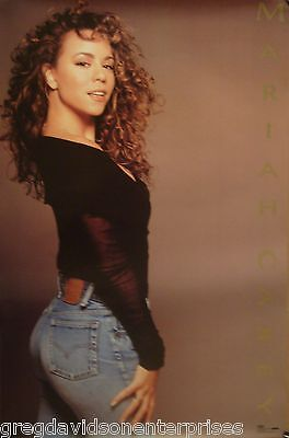 Mariah Carey 23x35 Emotions Era Poster 1992 Sexy Jeans