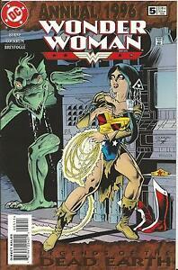 WONDER WOMAN ANNUAL #5 (DC) 1996
