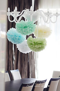 10-TISSUE-PAPER-POMPOMS-wedding-party-decorations