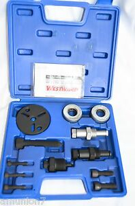 Westward-A-C-Compressor-Clutch-Remover-Puller-Installer-Kit-1YMH6-Tool-for-Hubs