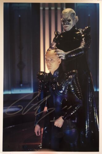Tom Hardy signed 12x8 Image F Star Trek photo UACC Registered dealer AFTAL