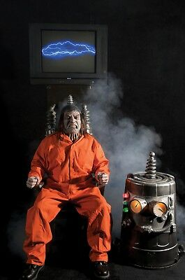 Halloween Haunted Electric Chair Special Effects Horror Movie Party Supplies Kit (Halloween Decoration Electric Chair)