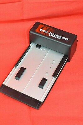 Credit Card Imprinter Imprint Carbon Copy Alpha Card Services Suction Cup Feet
