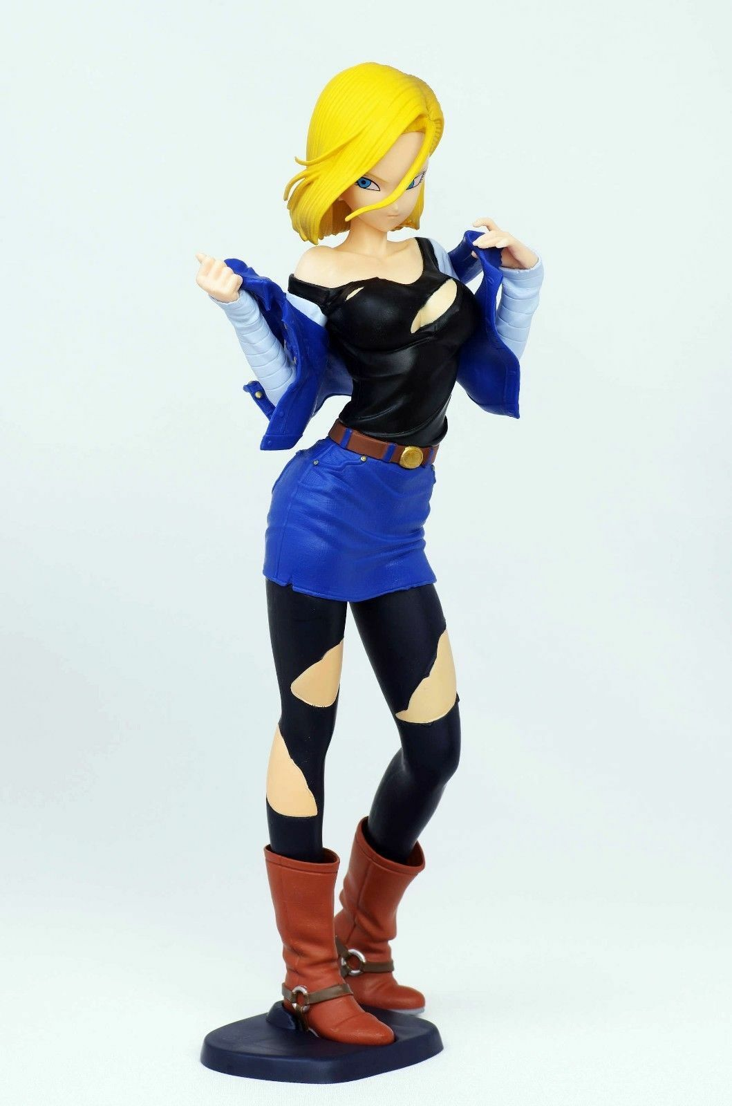 Sexy Anime Figurine Dragon Ball Z Android 18 Action Figure -8932