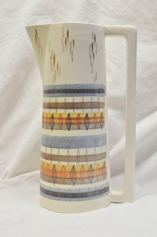 "Sascha Brastoff Mid Century Modern Coffee Pot 13"" tall"