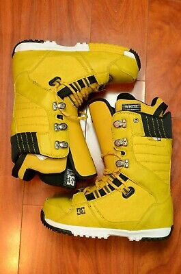 SAMPLE DC Mutiny Men's Snowboard Boots Black/Gold Size 8 US  Gold Snowboard Boots