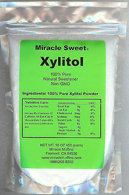 Xylitol - Miracle Sweet® - 8X1 lb - Free Shipping Option!!! (Xylitol Sweet)