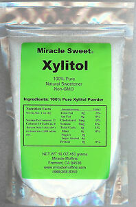 Xylitol-Miracle-Sweet-4X1-lb-Free-Shipping-Option