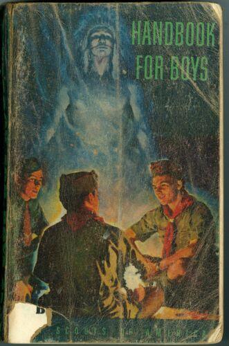 "1955 Boy Scout ""Handbook For Boys"""