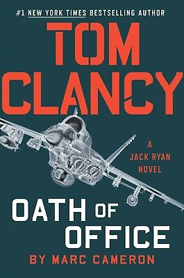 Tom Clancy Oath of Office By NYC Times Best Seller A Jack Ryan Novel, Hard (Best Spy Thriller Novels)
