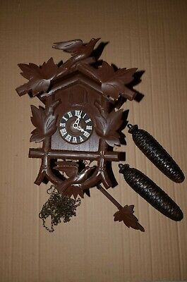 Vintage German 8 day Cuckoo Clock - not fully working