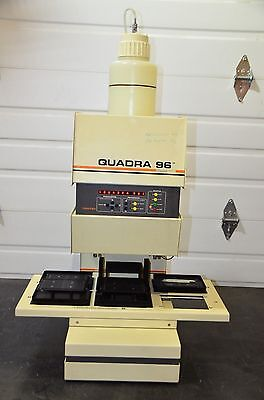 Tomtec Quadra 96 Model 320 6-station Automatic Shuttle Liquid Handling 196-320