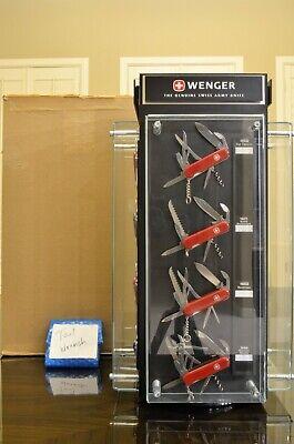 c2001 Vintage, NEW IN BOX Wenger Swiss Army Knife DEALER DISPLAY Pre-Victorinox