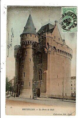 CPA-Carte Postale -Belgique - Bruxelles - Porte de Hal en 1905  VM6452