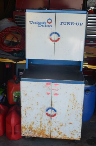 United Delco TUNE-UP Cabinet, Full of new parts in original packaging
