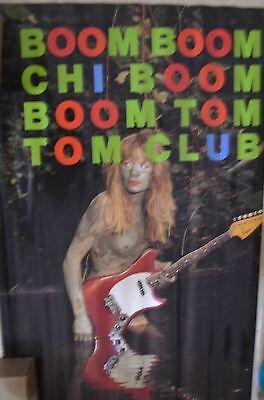 Tom Tom Club Original Poster (Talking Heads Artists)