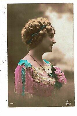 CPA-Carte Postale France-Fantaisie Jeune femme vue de profil   VM5662