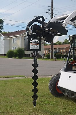Bobcat Skid Steer Attachment - Lowe 750 Classic Auger With 6 Bit - Ship 199