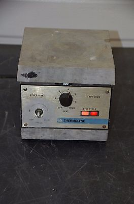 Thermolyne Spa1025b Type 1000 6.75 Aluminum Top Hot Plate Magnetic Stirrer