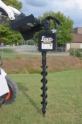 Bobcat Skid Steer Attachment - Lowe 750 Hex Auger Drive With 6 Bit - Ship 199