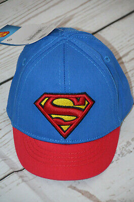 C&A Baby Superman Superheld Kappe Capy Cap Kostüm Karneval Gr. 68 44 / 45 Neu - Superman Neue Kostüm Blau