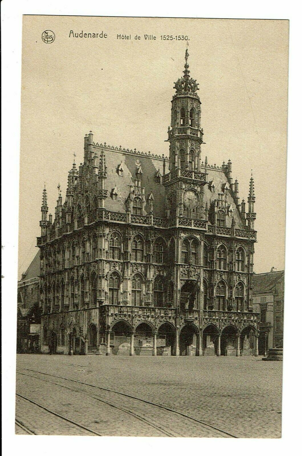 CPA-Carte postale -BELGIQUE -Oudenaarde- Hôtel de ville   VM1906