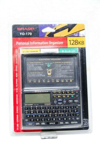 Sharp YO-170 Personal Information Organizer Calculator NEW & SEALED - FREE SHIP!
