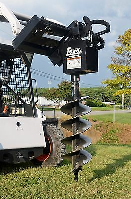 Bobcat Skid Steer Attachment Lowe 750 Classic Round Auger With 15 Bit Ship 199
