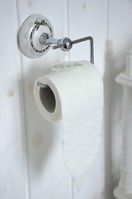 Mathilde M. Toilettenpapierhalter WC Rollenhalter Shabby Chic Vintage Landhaus