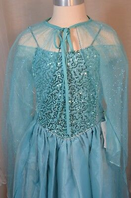 Girl Princess Costume, Gorgeous Blue Dress, Size 6-7. Movie inspired dress up. - Movies Dress Up