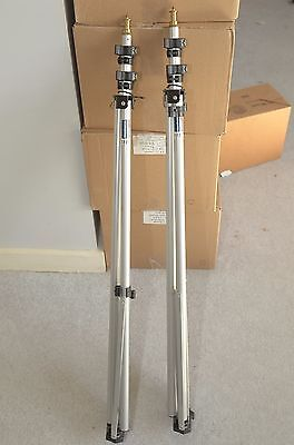Manfrotto 3321 Compact Professional Light Stands set of 2