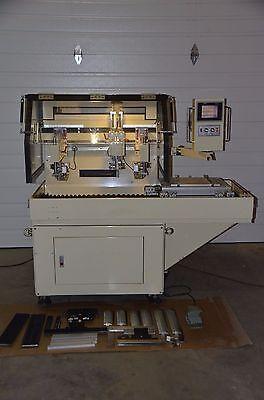 Manncorp Smt Auto Stencil Screen Printer Model Tc 3040 4040 Tp 360mm X 290mm