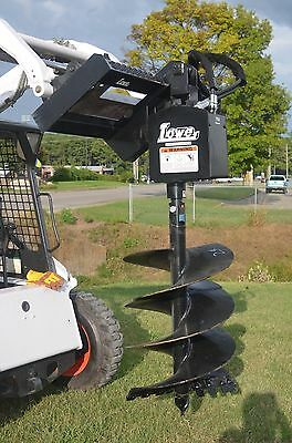 Bobcat Skid Steer Attachment - Lowe 750 Round Auger With 24 Bit - Ship 199
