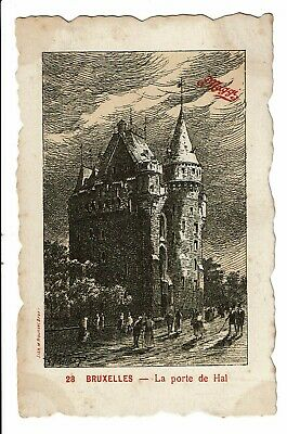 CPA - Carte Postale -Belgique - Bruxelles - Porte de Hal -VM3011