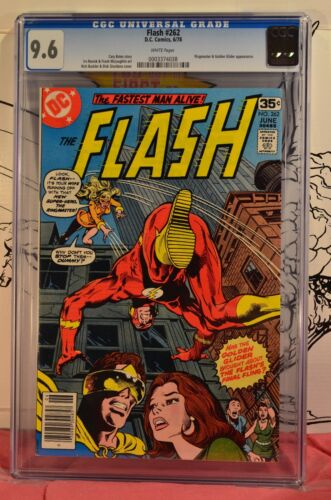 Flash #262 CGC 9.6 1978 Ringmaster and Golden Glider Appearance