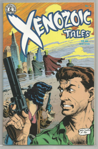 XENOZOIC TALES # 3 * Second Printing * KITCHEN SINK COMIX * 1989