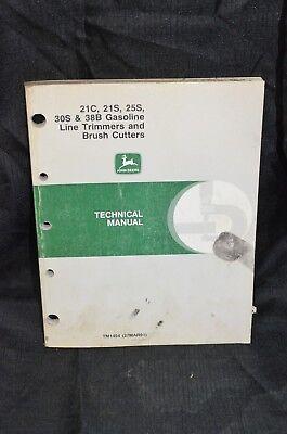 Tm1494 John Deere Technical Service Shop Manual 21c 21s 25s 30s 38b Line Trimmer
