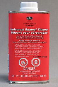 testors universal enamel paint thinner 8oz airbrushing airbrush. Black Bedroom Furniture Sets. Home Design Ideas