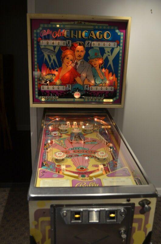 Bally Old Chicago 4 player EM Pinball Machine 1976