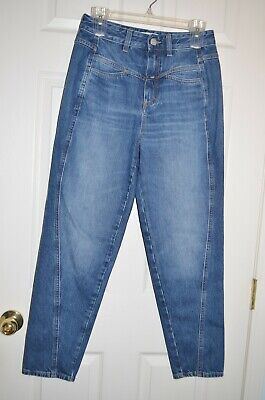 NEW Closed Denim Pedal Twist Women's Blue Jeans 24 Made in Italy