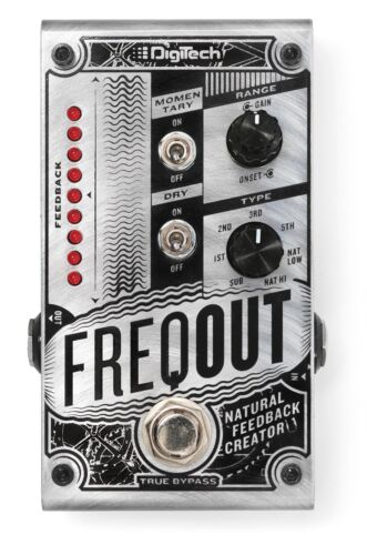 Used DigiTech FreqOut Natural Feedback Creator Guitar Effects Pedal