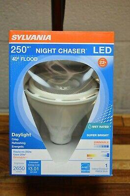 SYLVANIA LED NIGHT CHASER 250W 2650 Lumen PAR38 Flood Light E26 5000K -